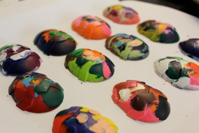Colorful Egg Crayons