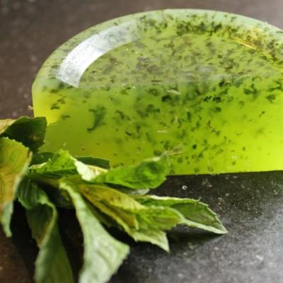 homemade herb soap