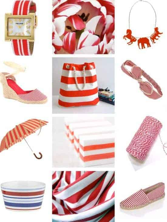 Red Stripe Picks | HelloGlow.co