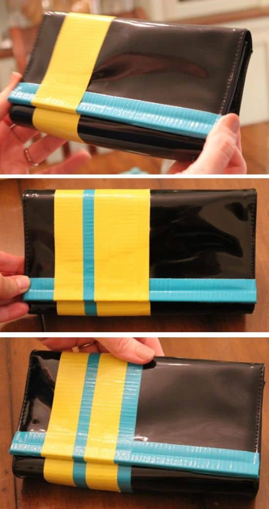 DIY Colorblock Purse | HelloGlow.co