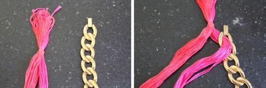 0001aU Woven Chain Necklace