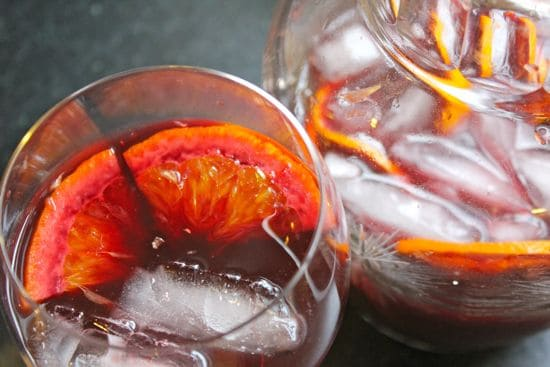 Best Red Wine Sangria | HelloGlow.co