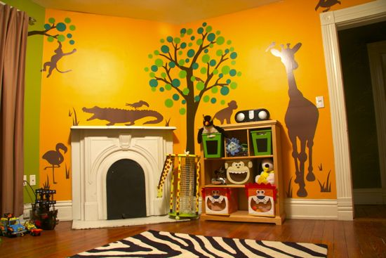 jungle nursery inspiration