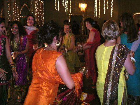 dancing pakistani wedding