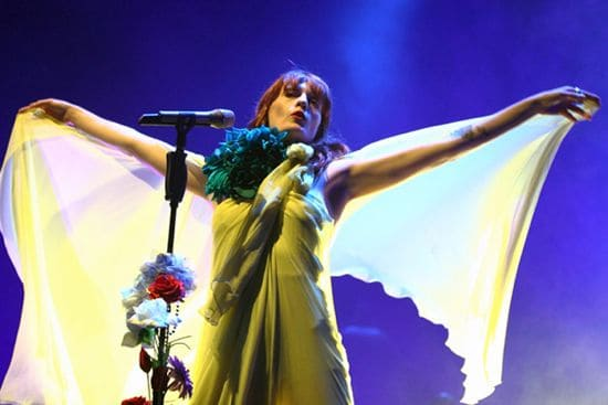 florence welch stage