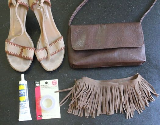 DIY Fringe Shoes | HelloGlow.co