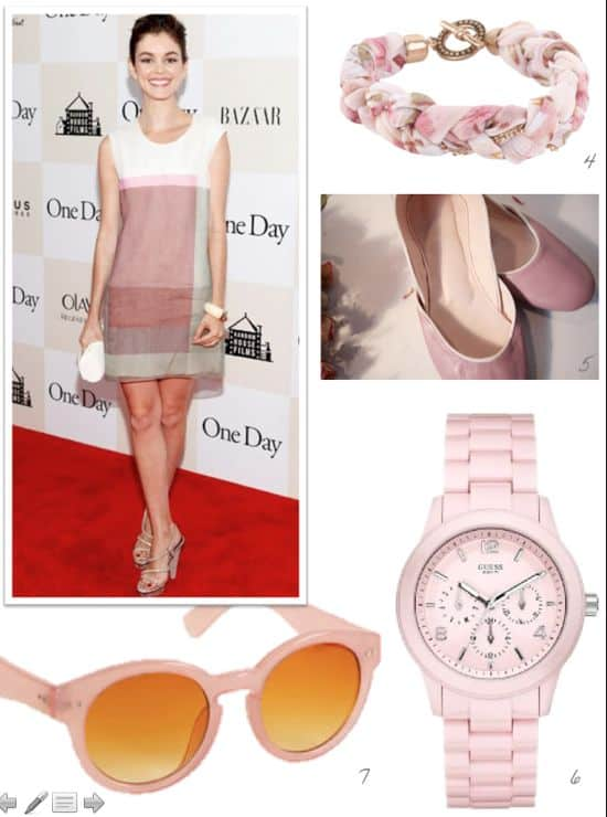 how to wear ballet pink