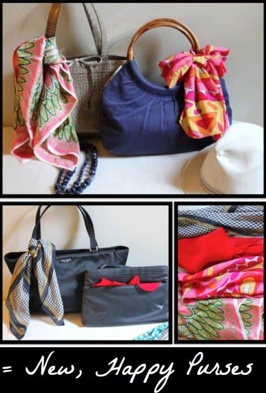 scarf to bag