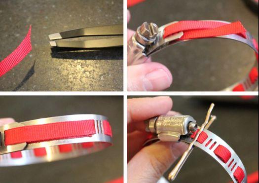 make a hardware bracelet