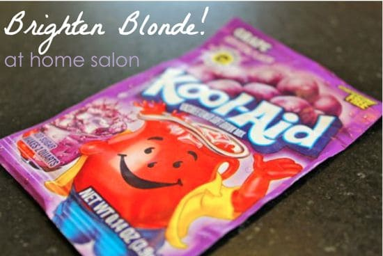 Brighten Blonde with Kool Aid | HelloGlow.co