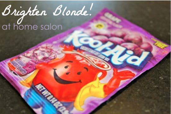 Brighten Blonde with Kool Aid | HelloGlow.co