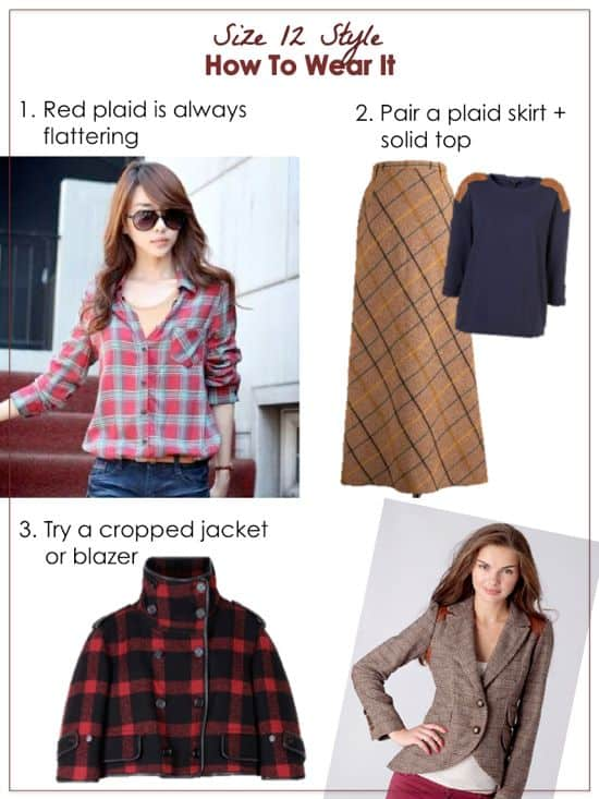 how to wear mad for plaid