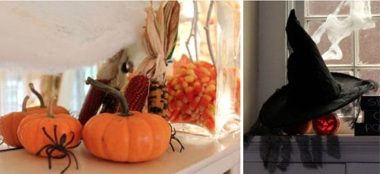 DIY Halloween Mantel | HelloGlow.co