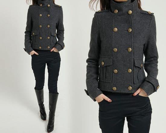 military coat FM908