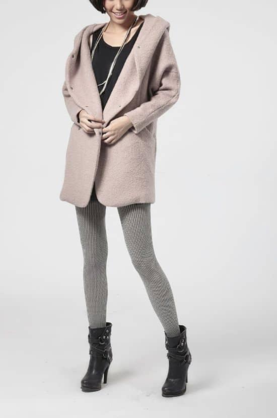 pink FM908 coat