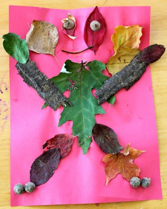 Nature Monster Halloween Craft | HelloGlow.co