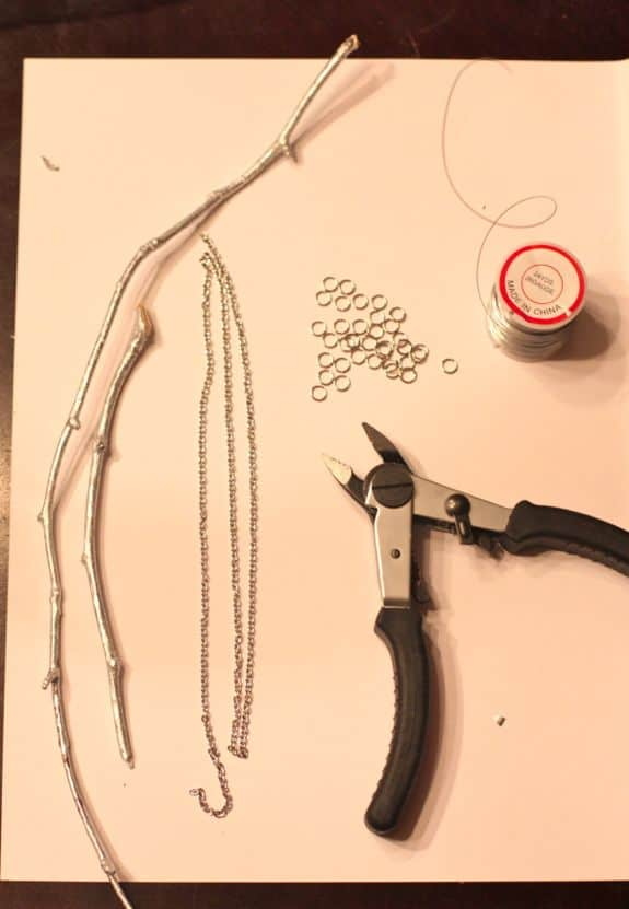 how to make twig necklace