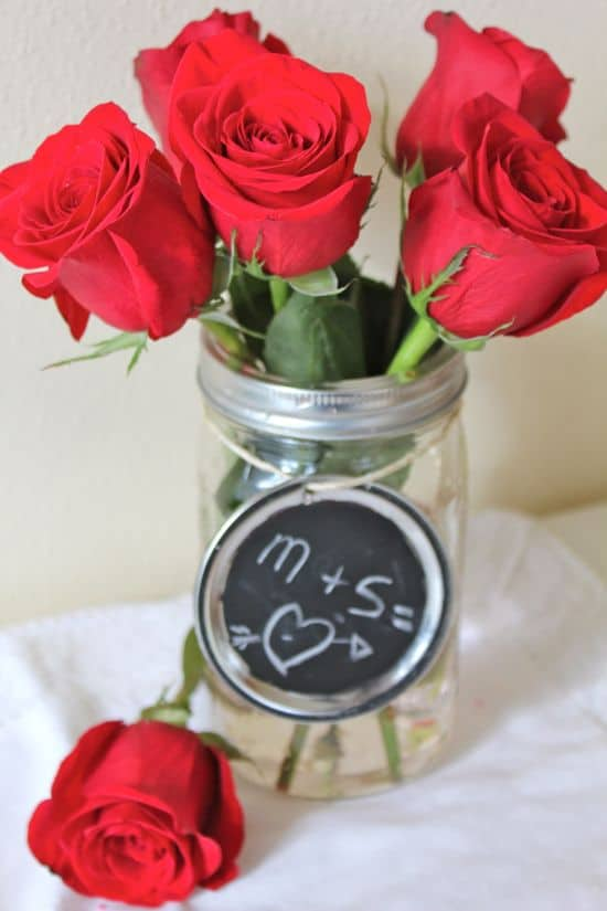 DIY Mason Jar Vases | HelloGlow.co