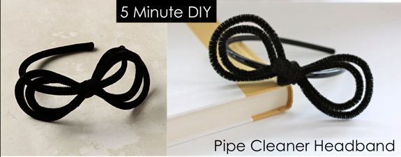 Anthropologie Pipe Cleaner DIY Headband | HelloGlow.co