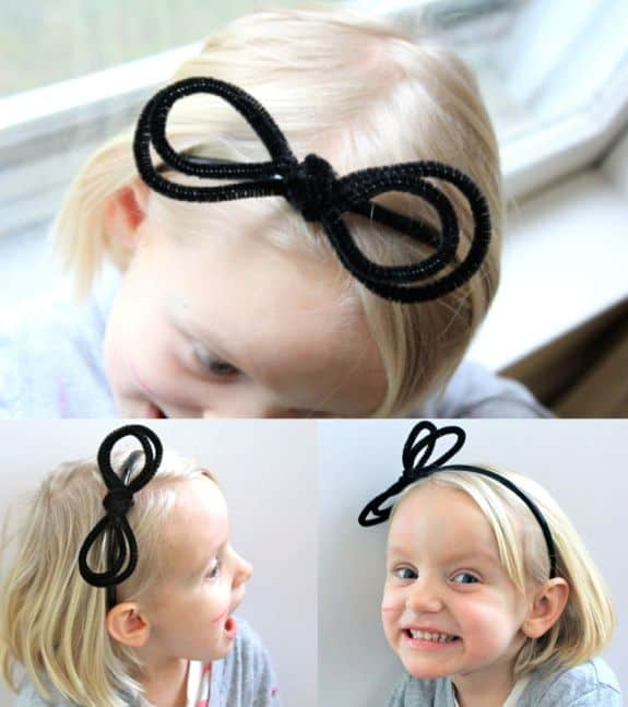 Anthropologie Pipe Cleaner Diy Headband Helloglow Co