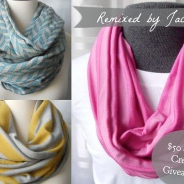 $50 Infinity Scarf Giveaway + Blog Update