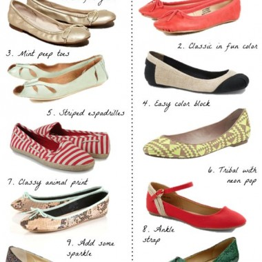 10 Favorite Flats for Spring + How to Wear Them