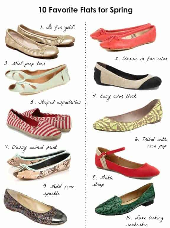 Fave Flats for Spring