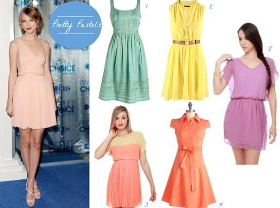 dresses for spring 2012