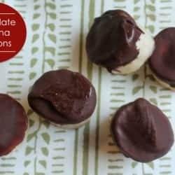 Chocolate Banana Bonbons