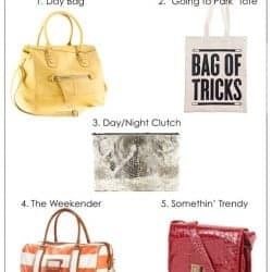 5 Bags Every Girl Needs