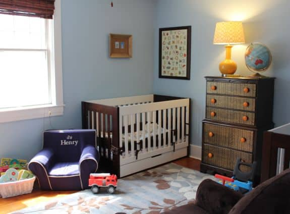boys nursery room