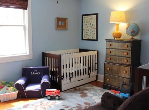 boys nursery room