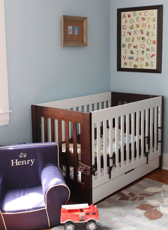 boys nursery room tour