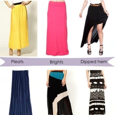 Maxi Skirt Style Picks