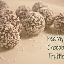 Recipe | Healthy Chocolate Truffles