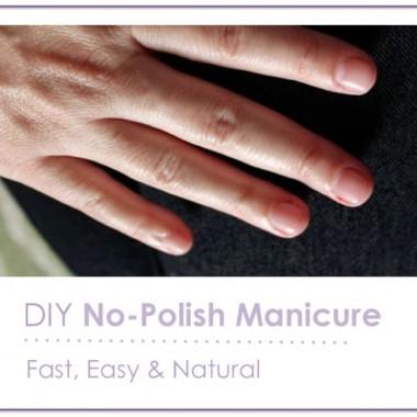 5-Step No-Polish Manicure