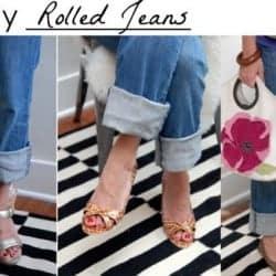 4 Ways to Wear Rolled Jeans