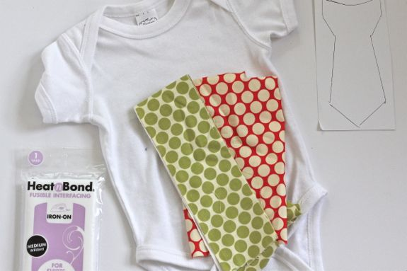 how to make a tie onesie