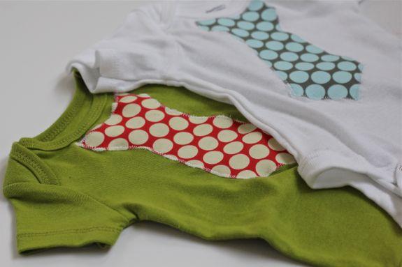 cute DIY tie onesie
