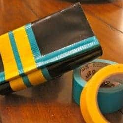 DIY Color Block Purse