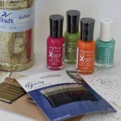 DIY Bobby Pins – Neon, Glitter & Sparkle