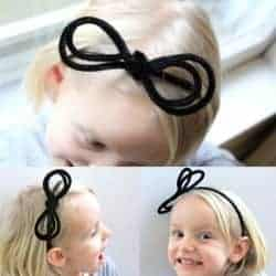 Anthropologie Pipe Cleaner DIY Headband