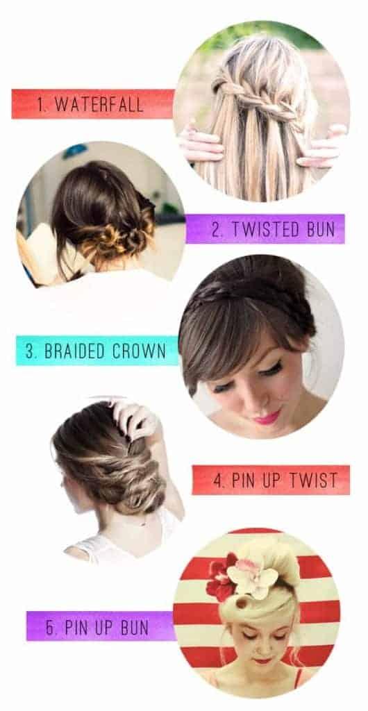 5 Hair Tutorials For Long Hair | HelloGlow.co