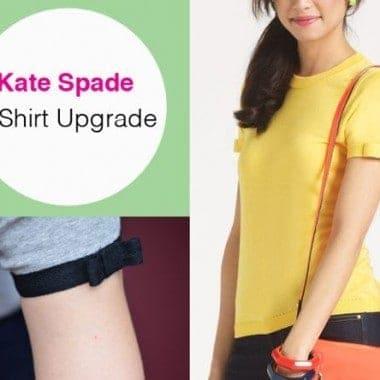DIY Kate Spade T-Shirt Upgrade
