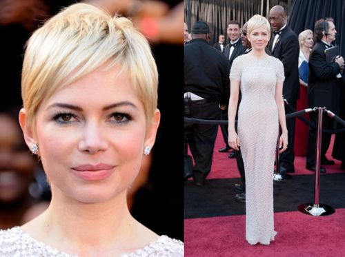 Michelle Williams Pixie Cut | HelloGlow.co