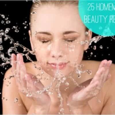 25 homemade beauty recipes via Henry Happened