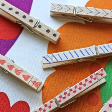 DIY Fancy Pants Clothespins