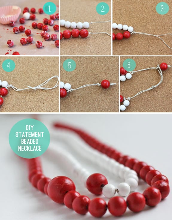 How to make a statement beaded necklace