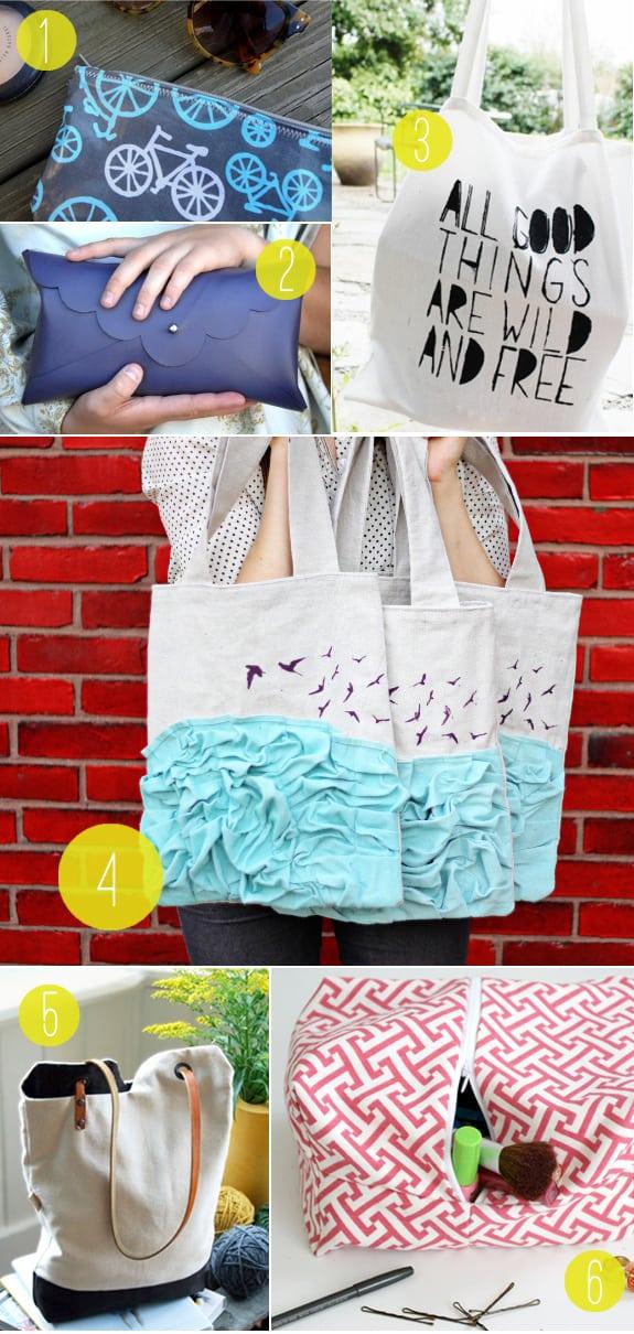 5 Cute DIY Bags