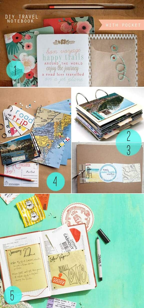 DIY Journals for the World Travelers | Henry Happened